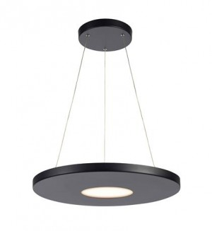 PLATE LED black 107589 Markslojd