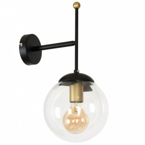 HAMAR black-gold kinkiet 1134 Luminex