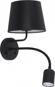 MAJA LED black kinkiet 1363 TK Lighting