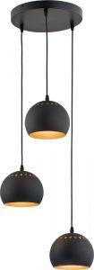 YODA black 3 zwis 1836 TK Lighting