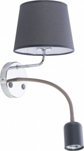 MAJA gray kinkiet 2427 TK Lighting