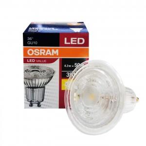 LED GU10 4.3W Par16 3000K 36 OSRAM