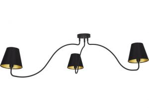 SWIVEL black III plafon 6558 Nowodvorski Lighting