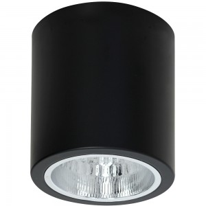 DOWNLIGHT round black 7239 Luminex
