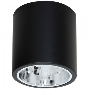 DOWNLIGHT round black 7241 Luminex