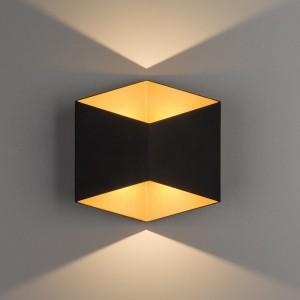 TRIANGLES LED black-gold 8141 Nowodvorski Lighting