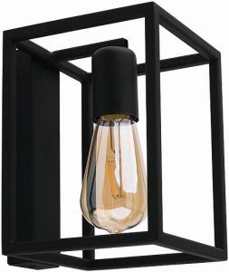 CRATE black kinkiet 9046 Nowodvorski Lighting