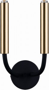 STALACTITE black-brass kinkiet 9055 Nowodvorski Lighting