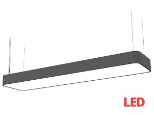 SOFT LED graphite 90x20 zwis 9542 Nowodvorski Lighting