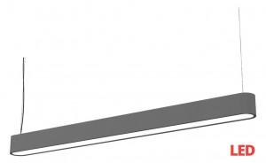 SOFT LED graphite 90x6 zwis 9546 Nowodvorski Lighting
