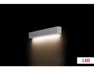 STRAIGHT WALL LED silver S 9613 Nowodvorski Lighting