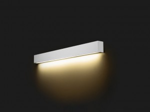 STRAIGHT WALL LED silver L 9615 Nowodvorski Lighting
