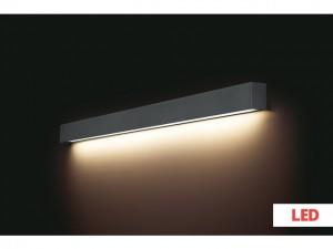 STRAIGHT WALL LED graphite L 9616 Nowodvorski Lighting