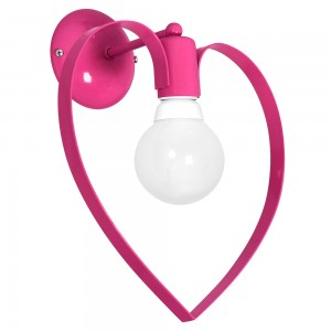 AMORE dark pink kinkiet 9955 Luminex