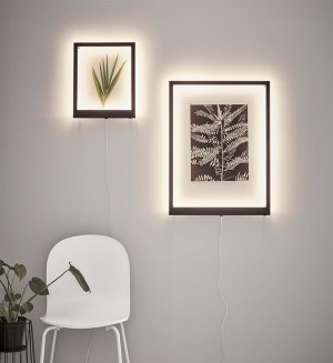 FRAME LED black 107362 Markslojd
