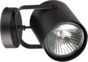 FLESZ black kinkiet 31350 Sigma