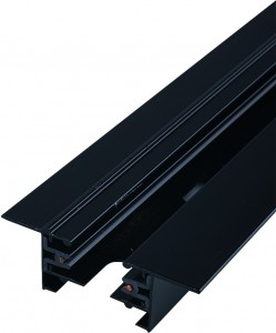 PROFILE RECESSED TRACK 2 METRE black 9015 Nowodvorski Lighting