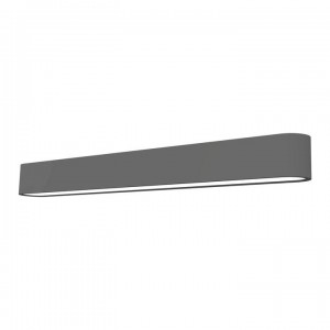 SOFT LED graphite 60x6 kinkiet 9525 Nowodvorski Lighting