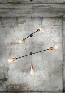 STICKS black-copper V 6270 Nowodvorski Lighting
