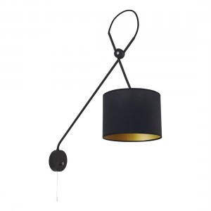 VIPER black kinkiet 6513 Nowodvorski Lighting