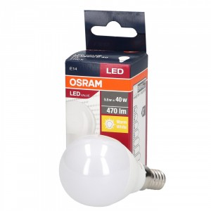 Led Value 5.5W E14 P40 OSRAM