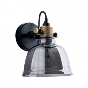 AMALFI smoked kinkiet 9154 Nowodvorski Lighting