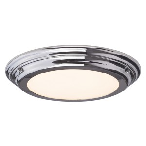 WELLAND LED polished chrome BATH/WELL/F PC Elstead Lighting