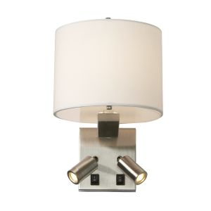 BELMONT brushed nickel BELMONT/3W Elstead Lighting