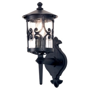 HEREFORD black BL10 Elstead Lighting