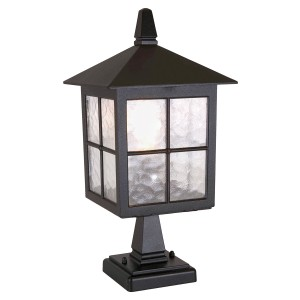 WINCHESTER black BL25 Elstead Lighting