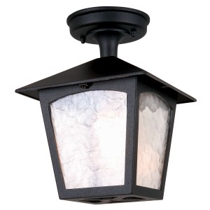 YORK black BL6A Elstead Lighting