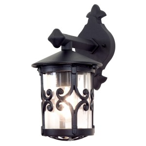 HEREFORD black BL8 Elstead Lighting