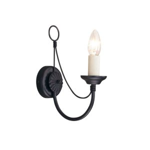 CARISBROOKE black CB1 BLK Elstead Lighting