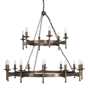 CROMWELL old bronze CW18 Elstead Lighting