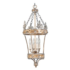 CROWN silver-gold FB/CROWN/P Elstead Lighting