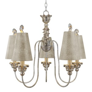 REMI silver - cream FB/REMI5 Elstead Lighting