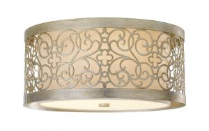 ARABESQUE silver leaf and patina FE/ARABESQUE/F Feiss