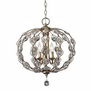 LEILA burnished silver FE/LEILA3 Feiss