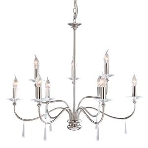 FINSBURY PARK polished nickel FP9 PN Elstead Lighting