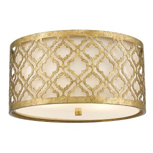 ARABELLA distressed gold GN-ARABELLA-F Elstead Lighting
