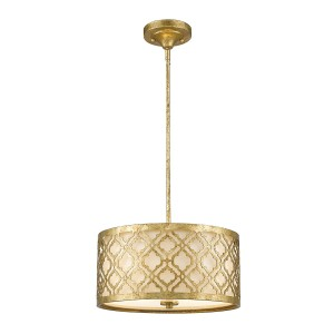 ARABELLA distressed gold GN-ARABELLA-P-M Elstead Lighting