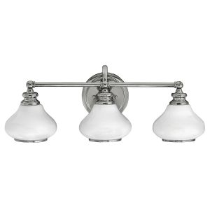 AINSLEY Led polished chrome HK/AINSLEY3 BATH Hinkley
