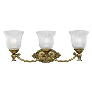 FRANCOISE burnished brass HK/FRANCOI3 BATH Hinkley Lighting