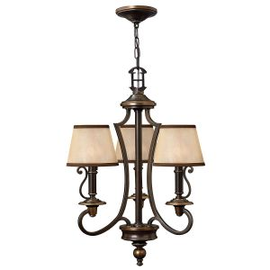 PLYMOUTH old bronze HK/PLYMOUTH3 Hinkley Lighting