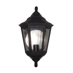 KINSALE black KINSALE FLUSH Elstead Lighting