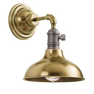 COBSON natural brass KL/COBSON1 BR Kichler