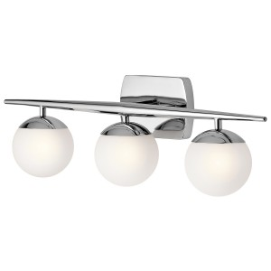 JASPER Led polished chrome KL/JASPER3 BATH Kichler