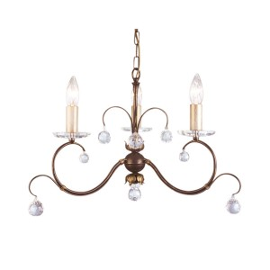 LUNETTA bronze patina LUN3 BRONZE Elstead Lighting