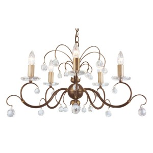 LUNETTA bronze patina LUN5 BRONZE Elstead Lighting