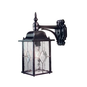 WEXFORD black silver WX2 Elstead Lighting